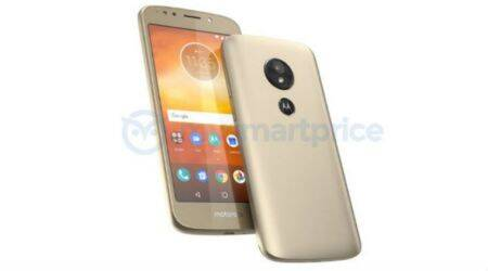 Moto E5 leaked image reveals rear-facing fingerprint sensor, absence of home button
