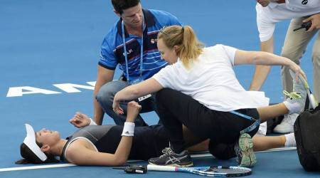 Garbine Muguruza injury jinx continues with Brisbane International retirement