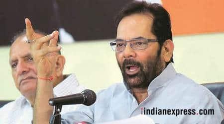 Jharkhand lynching: 'Jai Shri Ram' can be chanted by embracing people, says Mukhtar Abbas Naqvi