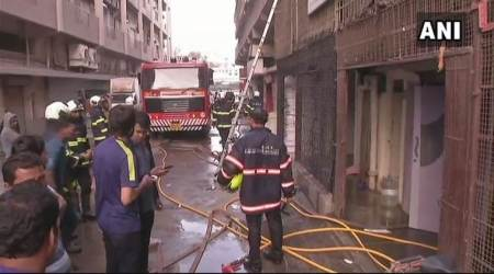 Mumbai: Fire doused at Lower Parel building, no injuries reported