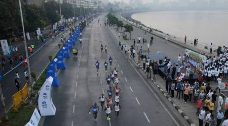 Mumbai Marathon, Mumbai Marathon news, Mumbai Marathon updates, dabbawalas, sports news, Indian Express