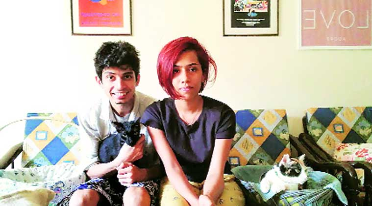 mumbai cat-sitters, indian express, Yashashree Kale, Mehar Chumble, cat pet, mumbai cats, pet animals, maharashtra