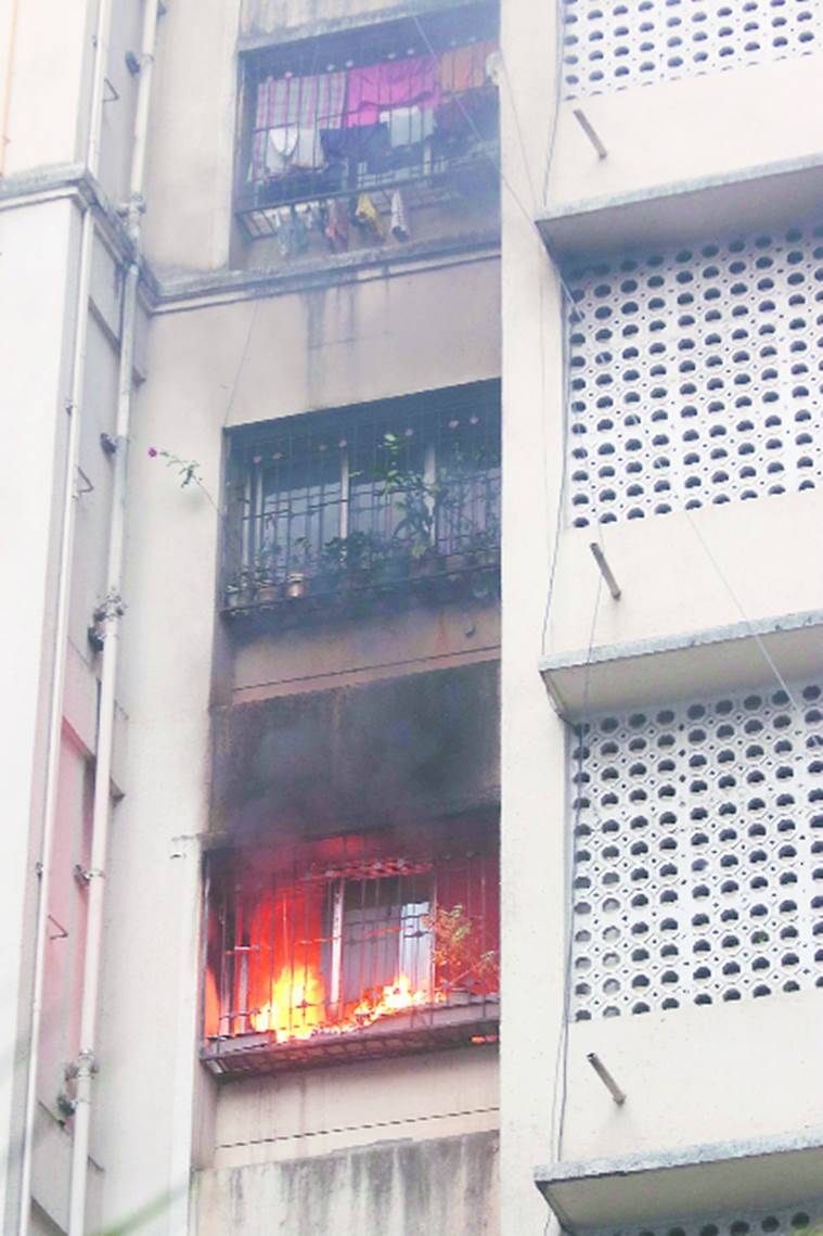 Mumbai:Another fire breaks out, this time in building in Nagpada