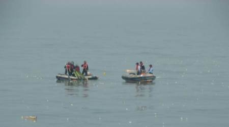 Debris of missing chopper found near Mumbai coast; five bodies recovered