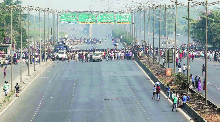 Maharashtra bandh: All highways blocked, major roadblocks across Mumbai