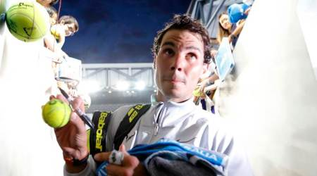 Australian Open: Rafa Nadal holds court before prospects battle in Melbourne
