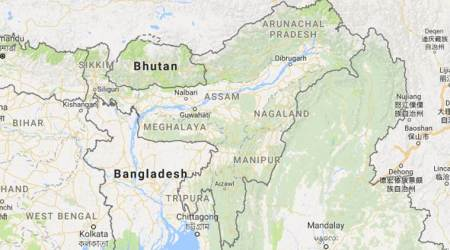 greater nagalim issue, assam protest, Maibang, Dima Hasao district, north east news, NSCN(IM), indian express, assam news, guwahati