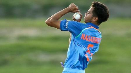 U19 World Cup, India U19 World Cup, India vs Australia Shivam Mavi, Kamlesh Nagarkoti, sports news, cricket, Indian Express