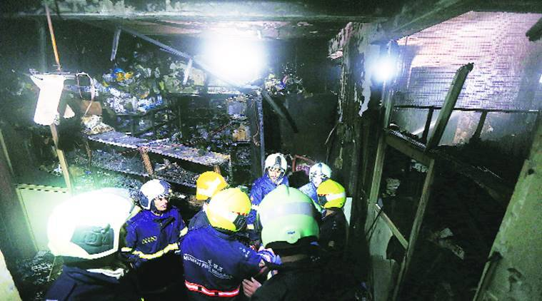 Mumbai: Another fire breaks out, this time at building in Nagpada