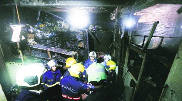 Mumbai:Another fire breaks out, this time at building in Nagpada