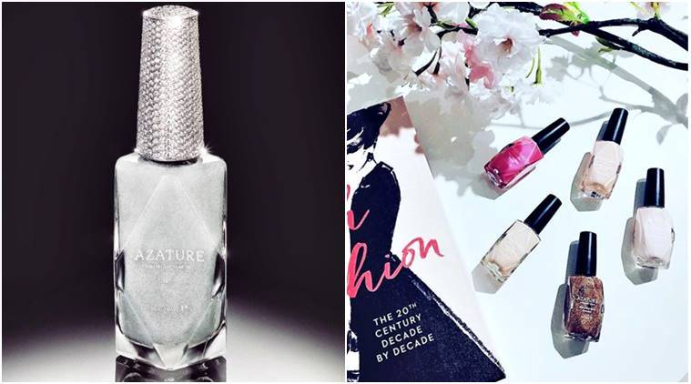 Rihanna Beyonce Kelly Osbourne Expensive Nail Polish White Diamond