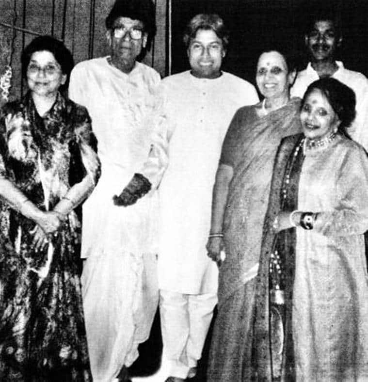 Naina Devi, Mallikarjun Mansur, Amjad Ali Khan, Sumitra Charatram, Ravi Shankar