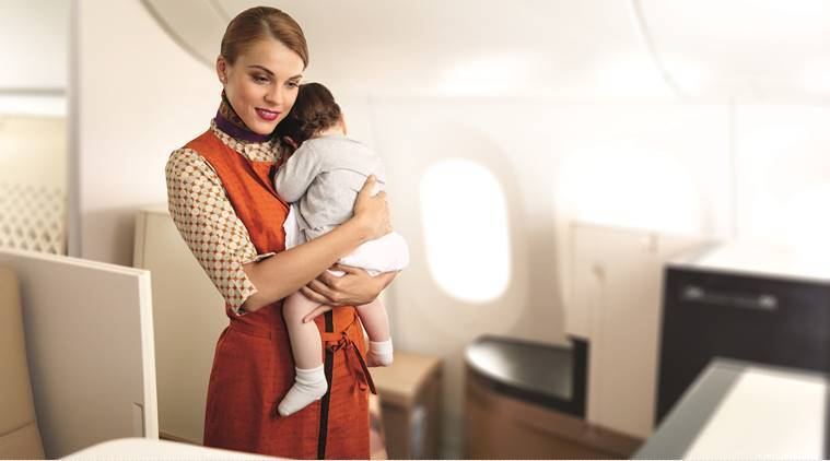Shush, nanny is here: A helping hand on long flights
