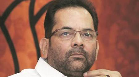 All Muslims living in country not infiltrators, says Mukhtar Abbas Naqvi