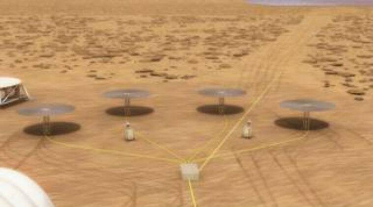 NASA mission, Mars power source, NASA Kilopower programme, nuclear fission reactor, Mars craters, Marshall Space Flight Centre, Nevada National Security Site