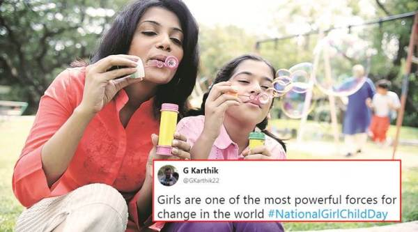 national girl child day, national girl child day date, national girl child day twitter reactions, patriarchy, sexual harassment, gender equality, rights of girls, indian express, indian express news