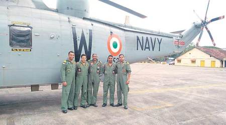 Cyclone Ockhi: Night when helicopter braved dark, choppy sea to save lives