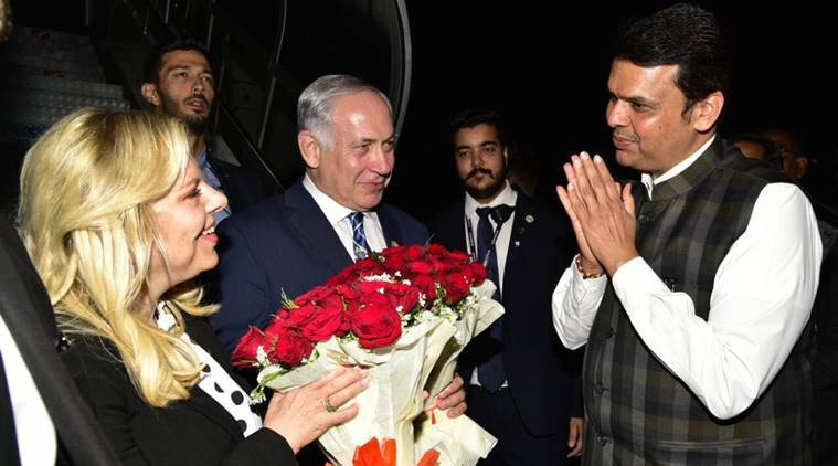 Netanyahu pays tributes to 26/11 terror attack victims