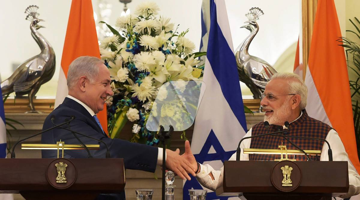 Netanyahu in India: With FDI pitch, PM Modi asks Israeli defence firms to Make in India
