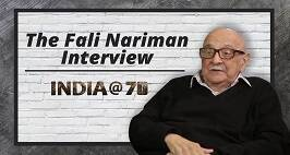 India @ 70 | Fali Nariman on India as a Hindu Rashtra and other issues