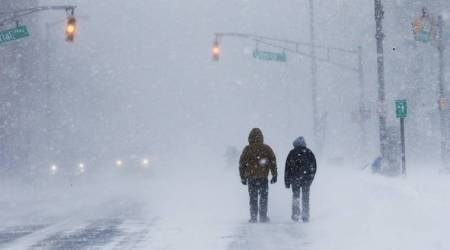 Winter is here….Brrr: 'Bomb cyclone' freezes US