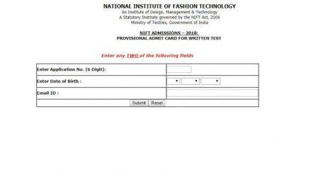 NIFT entrance exam 2018: Admit card released at applyadmission.net, exam on January21
