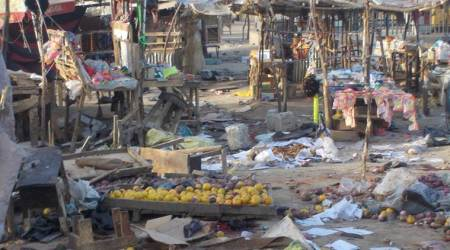 At least 10 killed in suicide blasts inNigeria