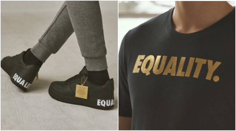 Nike, Nike Equality, Nike Equality sneakers, Black History Month, BHM, Nike new collection, Nike sneakers, Dr. Martin Luther King Jr. Day, Kevin Durant, LeBron James, Carmelo Anthony, indian express, indian express news