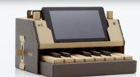 Nintendo Labo for Nintendo Switch will offer DIY cardboard accessories for console