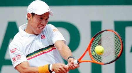 Kei Nishikori wins comeback match in New York