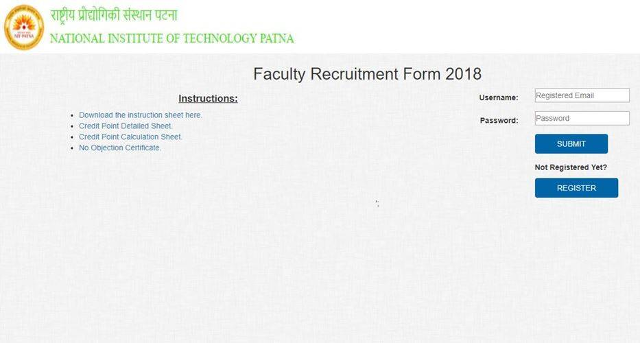 nit, nit patna, nitp.ac.in, professor jobs, teaching jobs