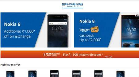 Nokia mobile week on Amazon: Top deals on Nokia 6, Nokia 8 smartphones