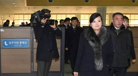 North Korean delegation arrives in South Korea for Olympics preparation