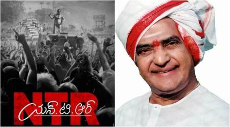 NTR first look: NT Rama Rao's biopic promises to be an intense politicaldrama