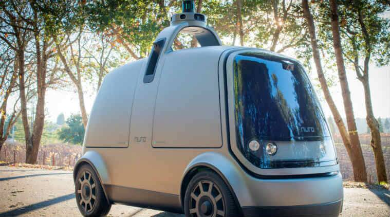 Nuro autonomous cars, Nuro delivery vehicle, autonomous technology, Toyota, Ford, self-driving cars, Amazon, Domino's, cargo vehicles, Pizza Hut, Tesla, robot cars, Waymo, General Motors