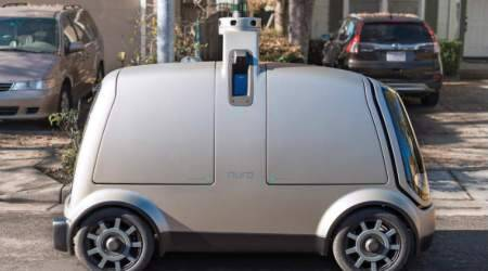 Driverless delivery robot car could arrive before self-drivingvehicles