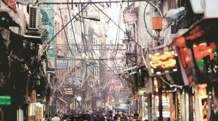 Old Delhi beautification project: Electrician has to deal with tangled wires, angry bystanders, and a looming deadline