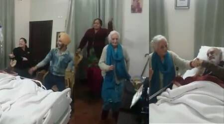 Video of 'grandma and grandkids' dancing to Punjabi hit number to cheer up ailing elderly man touches hearts on the Internet