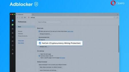 Opera adds anti-cryptocurrency mining feature to mobile browsers
