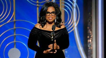 Oprah Winfrey expresses gratitude to all the women who have endured years of abuse; watch her full speech here