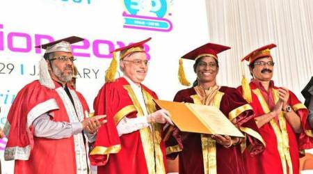 Humbled to receive doctorate from Calicut University, says PTUsha