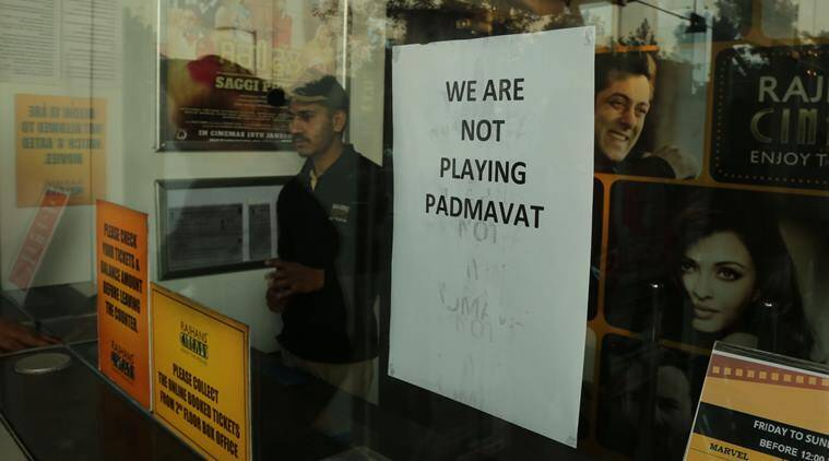 MP theatre owners decide not to screen 'Padmaavat'