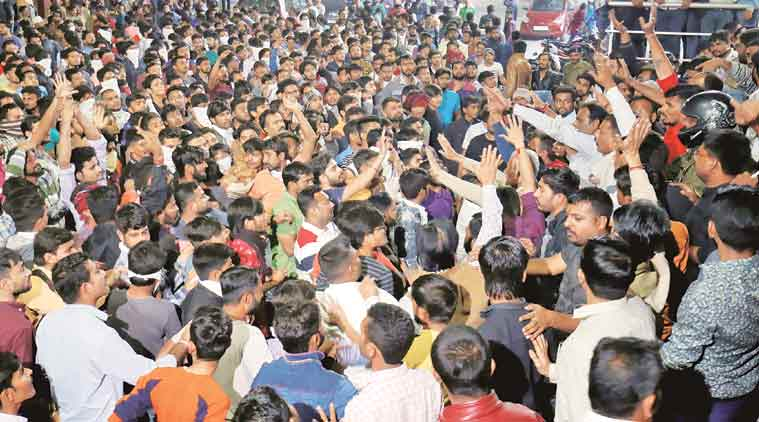 padmaavat, padmaavat protests, hardik patel, Alpesh Thakor, padmaavat release date, padmaavat ban, padmavati, Gujarat, Gujarat padmaavat protests, padmavati, indian express