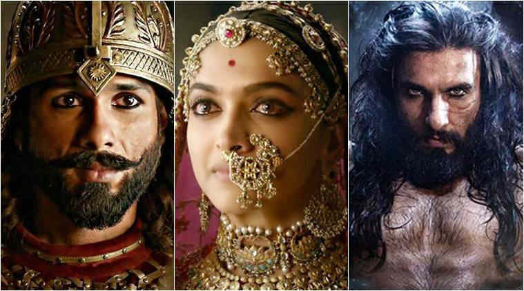 Padmaavat stars Deepika Padukone, Ranveer Singh and Shahid Kapoor in the lead roles