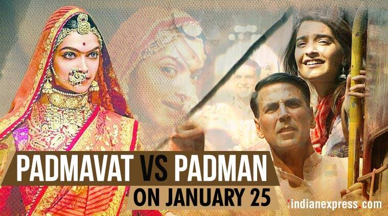 deepika padukone padmavati and akshay kumar padman to clash