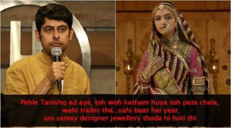VIDEO: Comedian Varun Grover's sarcastic take on Padmaavat controversy is on point