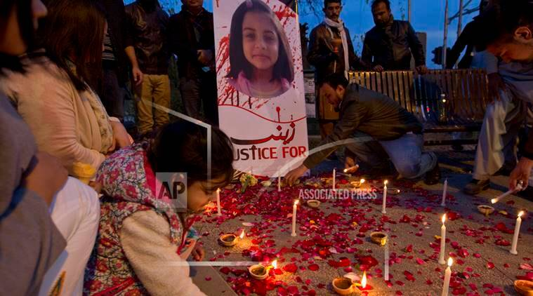 Pakistan rape and murder