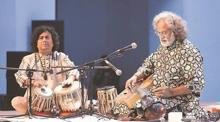 bengal classical music festival, dhaka, bangladesh, indian classical music, pandit vishwa mohan bhatt, dhaka university