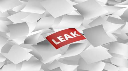 Like last year, leaked papers reached several students within seconds.