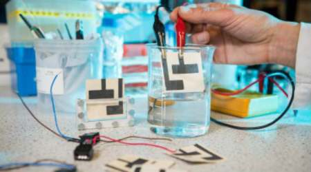Paper-based fuel cell, contaminated water, University of Bath, cheap water purification, water-borne diseases, microbial fuel cell, United Nations, biodegradable components